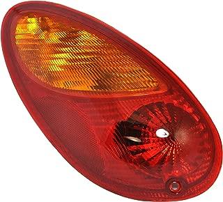 Driver Side Tail Light Lamp for 2001-2005 Chrysler PT Cruiser CH2800145 5288743AG - Includes Bulb
