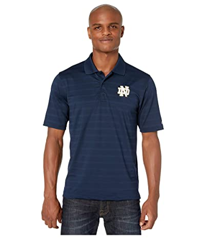 Champion College Notre Dame Fighting Irish Textured Solid Polo (Navy 2) Men