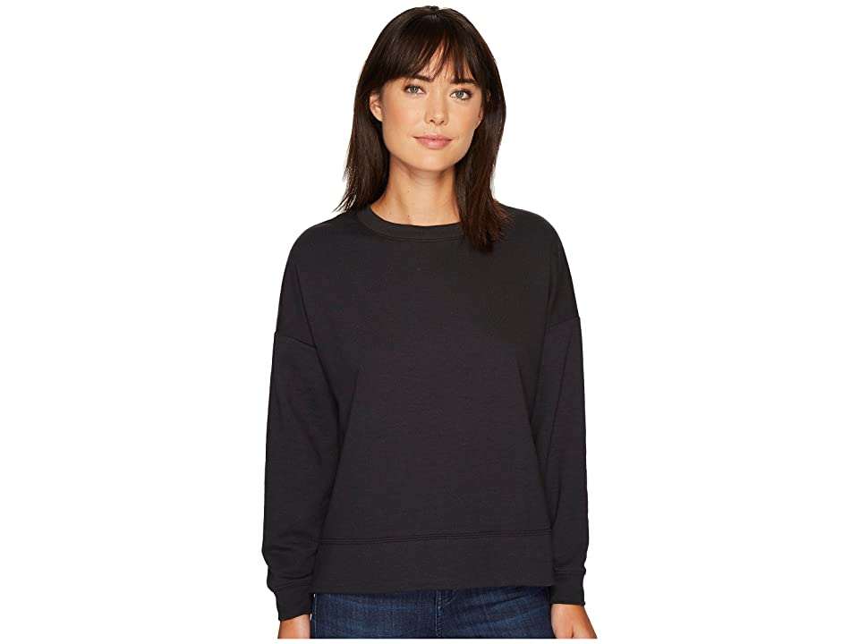 Alternative Vintage French Terry Getaway Pullover (Black) Women