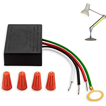 3 Way Touch Sensor dimmer, Touch lamp Repair kit Control Module,  Replacement Sensor, Touch Switch, 150Watt. - - Amazon.comAmazon.com