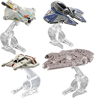 Hot Wheels Star Wars Hero Starship 4-Pack