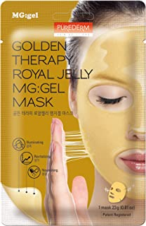 PUREDERM Golden Therapy Royal Jelly MG:Gel Mask 0.81oz