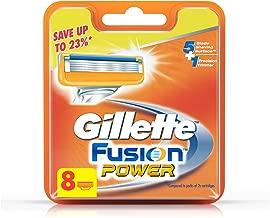 Gillette Fusion Power Shaving Razor Blades - 8 Pieces (Save Upto 23%)
