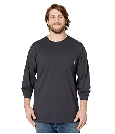 Timberland PRO Base Plate Blended Long Sleeve T-Shirt Tall (Dark Navy) Men