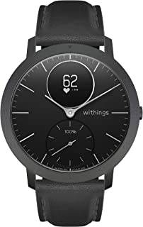 Withings Steel HR Reloj inteligente, Unisex Adult, Negro, 40 mm