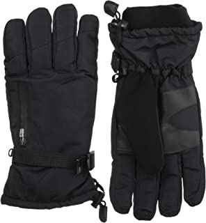 ISOTONER Men's Ski Gloves, Waterproof ,Windproof and Insulated for Cold Weather