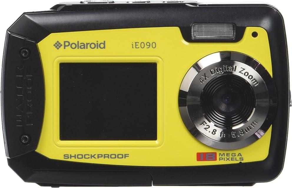 Polaroid iE090 Cámara compacta 18MP CCD Negro Amarillo - Cámara Digital (18 MP CCD 3447 g Negro Amarillo)