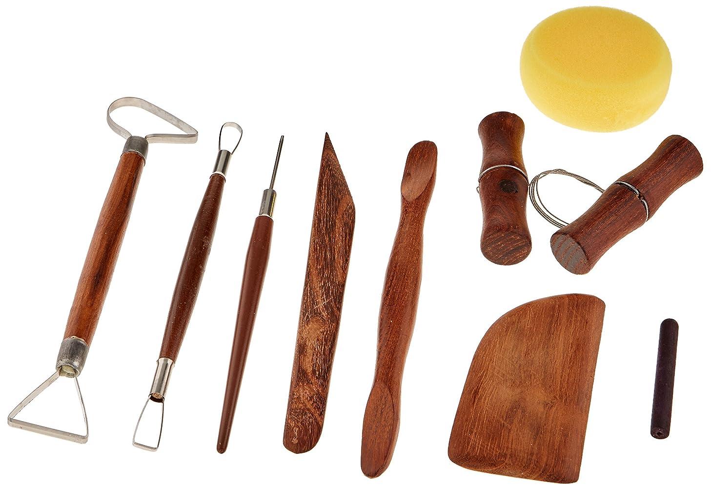 Jack Richeson Deluxe 8 Piece Basic Potters Assortment