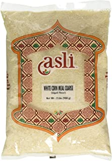 Asli White Corn Meal (Ugali Flour) - 2lb, Indian/African Groceries