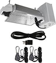 Hydro Crunch DE02-1000-ROPE 1000-Watt Double Ended HPS Pro Series Enclosed Style Grow Light System 120-Volt/240-Volt, White