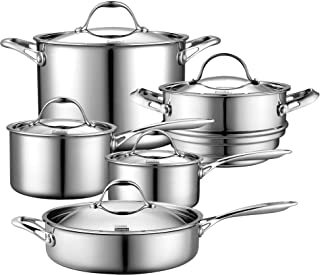 Best stainless steel cook and serve Reviews