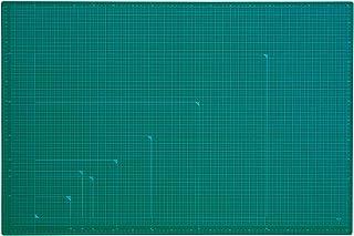 プラス カッターマット 両面 A1 600×900mm 48-587 グリーン