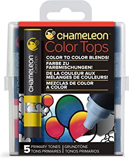 Chameleon Art Products 5 Color Tops-Accessoires Chameleon pour des dégradés de Couleurs Tons Primaires