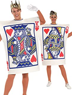Rubie's Costume Co - King and Queen of Hearts Adult Costume