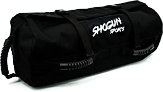 Shogun Sports Sandbag. Adjustable Weight Training Sandbag with Multiple Handles. Ideal for Cross-Training Workouts, Fitness and Military Conditioning.