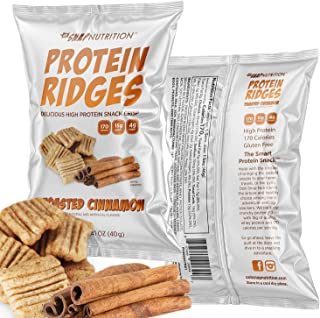 Sponsored Ad - Ooh Snap Nutrition Protein Ridges - Gluten Free and All Natural Whey Protein Chips - Low Calories and Low S...