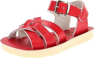 Salt Water Sandals by Hoy Shoe Sun-San-Swimmer Sandal,Red,7 M US Toddler