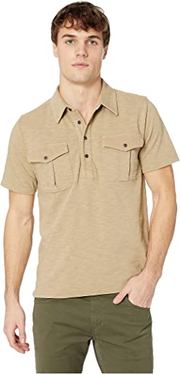 Two-Pocket Military Polo