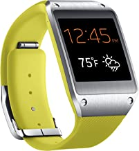 Samsung Galaxy Gear Smartwatch- Retail Packaging – Lime Green (Discontinued by Manufacturer)