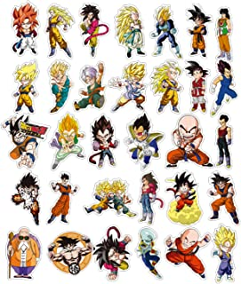 EKIND Not Repeat Graffiti Stickers for Tablet Skateboard Car Decals Bicycle (100Pcs, DRAGON BALLZ)