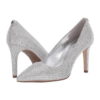 MICHAEL Michael Kors Dorothy Flex Pump (White/Silver/Champagne) Women