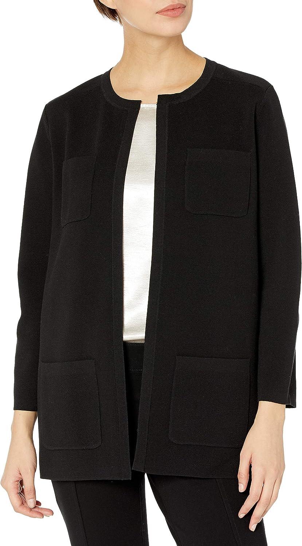 Anne Klein Women's Patch Pocket Cardigan