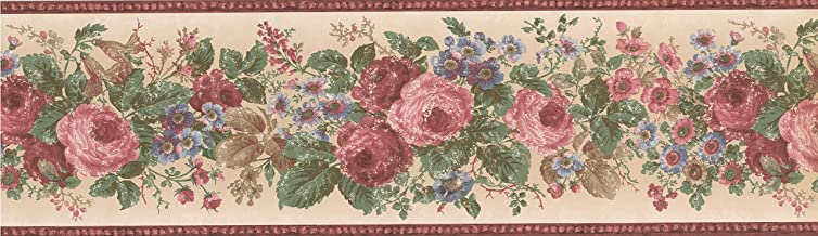 Wallpaper Border Floral 7