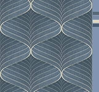 Grace & Gardenia G08C8004 Risky Hyponotic Blue Wallpaper