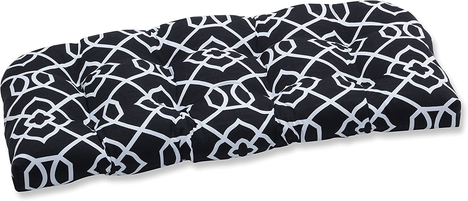 Pillow Perfect Outdoor Indoor Loveseat Cushion Time sale Kirkland Tufted Dedication