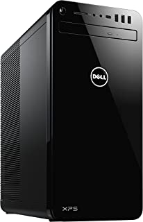 Dell 戴尔 XPS 8930 台式电脑(英特尔酷睿 i5-8400,1TB Optane 16GB,NVIDIA GeForce GTX 1050Ti 4GB GDDR5显卡内存,DVD RW,Win 10家庭版64位德国版)黑色