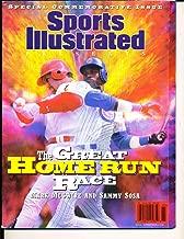 1998 Home Run Race Mark McGwire Sammy Sosa Sports Illustrated no label newsstand nm SIMisc6
