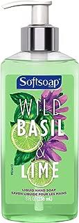 Softsoap Liquid Hand Soap, Wild Basil and Lime - 8 fluid ounce
