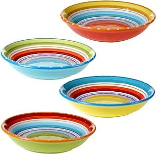 Certified International 25627SET/4 Mariachi Soup/Pasta Bowl (Set of 4), 9.25