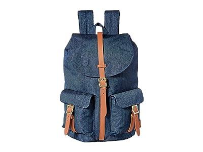 Herschel Supply Co. Dawson (Indigo Denim Crosshatch) Backpack Bags