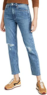 Rag & Bone/JEAN Women's Nina High Rise Ankle Cigarette Jeans