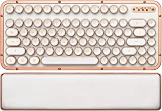 AZIO Retro Compact Keyboard (Posh) - Luxury Vintage Backlit