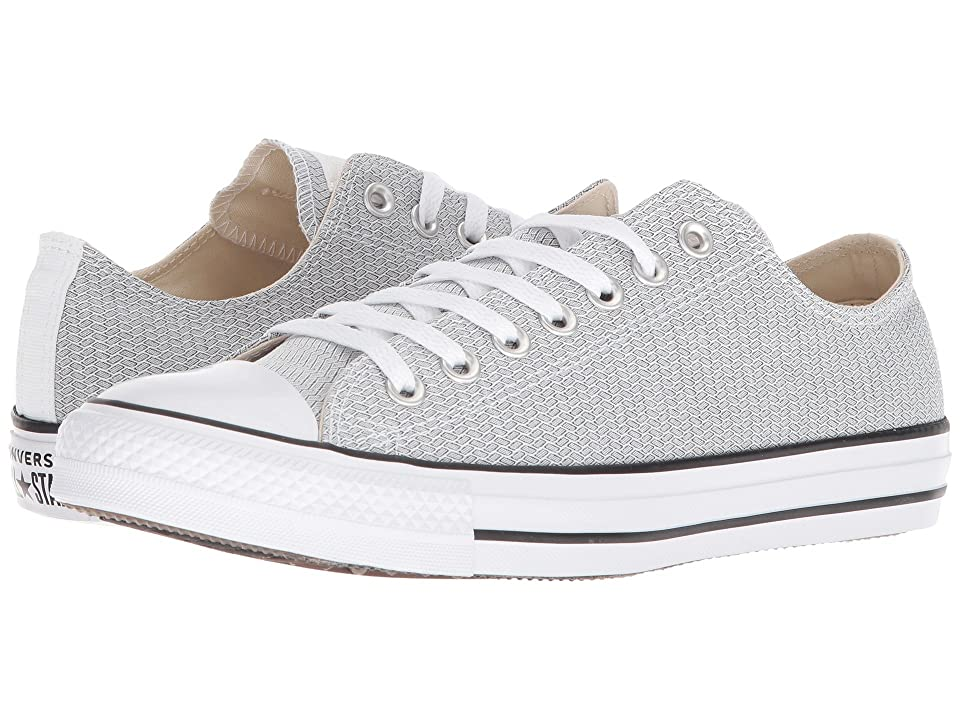 Converse Chuck Taylor(r) All Star(r) Ox Court Ripstop (White/Black/White) Classic Shoes