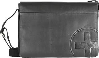 Strellson Jones Messenger Leder 35 cm, black