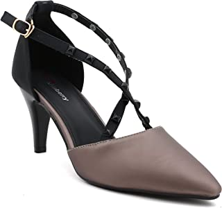 Shuberry SB-497 Faux Leather Heels for Party
