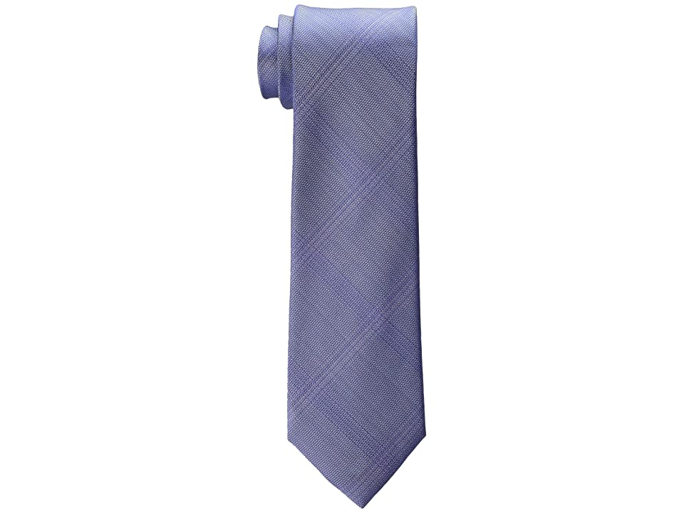 Kenneth Cole Reaction Fine Texture Grid (Purple) Ties