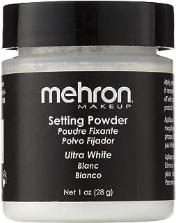 mehron UltraFine Setting Powder with Anti Perspriant Ultra White (並行輸入品)