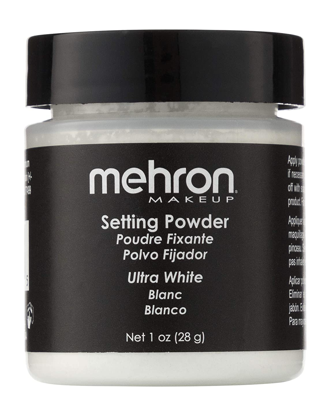 幻影汚れる一緒mehron UltraFine Setting Powder with Anti Perspriant Ultra White (並行輸入品)