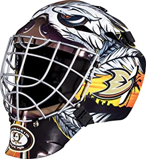 Anaheim Ducks Unsigned Franklin Sports Replica Full-Size Goalie Mask - Unsigned Mask