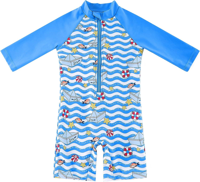 Latest item LORTPKGS Baby Toddler One Piece Zipper UPF Hat Great interest Sun Swimsuit with