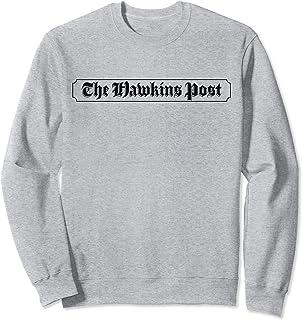 Netflix Stranger Things The Hawkins Post Logo Sweatshirt