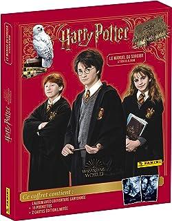 Harry Potter - Le Manuel du Sorcier Coffret 3D (1 Album cartonné + 16 Pochettes + 2 Cartes édit limitée)