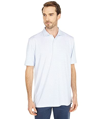 johnnie-O Albatross Striped PREP-FORMANCE Polo (Neptune) Men