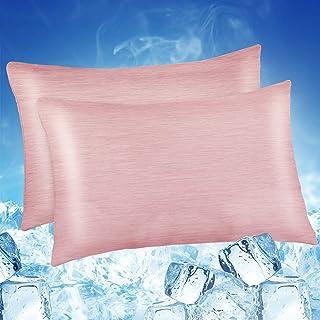 Luxear Chłodząca poszewka na poduszkę, poszewka na poduszkę