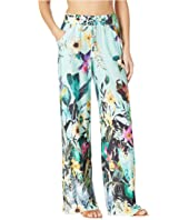 Bloomin Botanical Wide Leg Pant Cover-Up