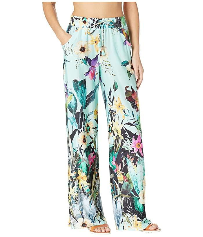 Nanette Lepore Bloomin Botanical Wide Leg Pant Cover-Up (Multicolored) Women